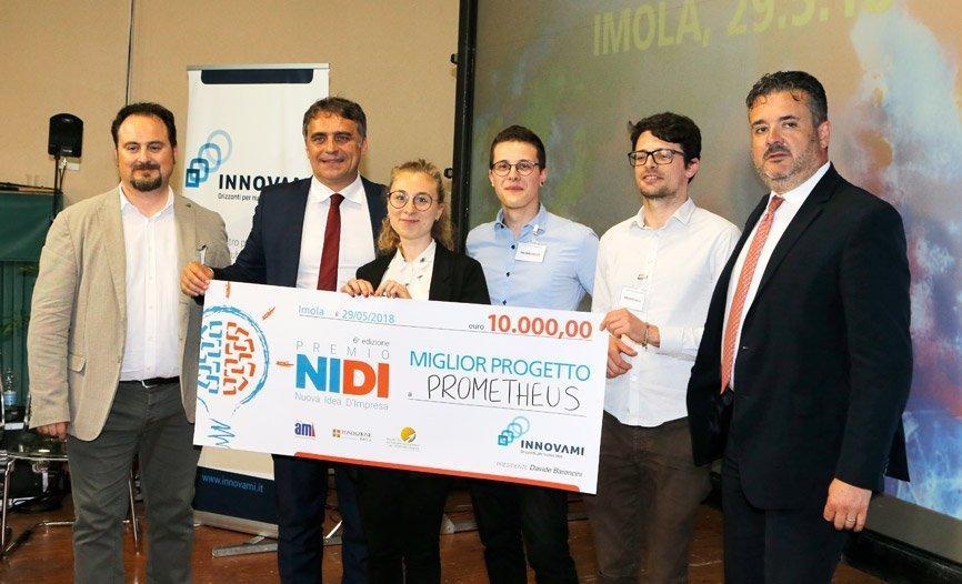 Prometheus conquista il Premio NIDI 2018