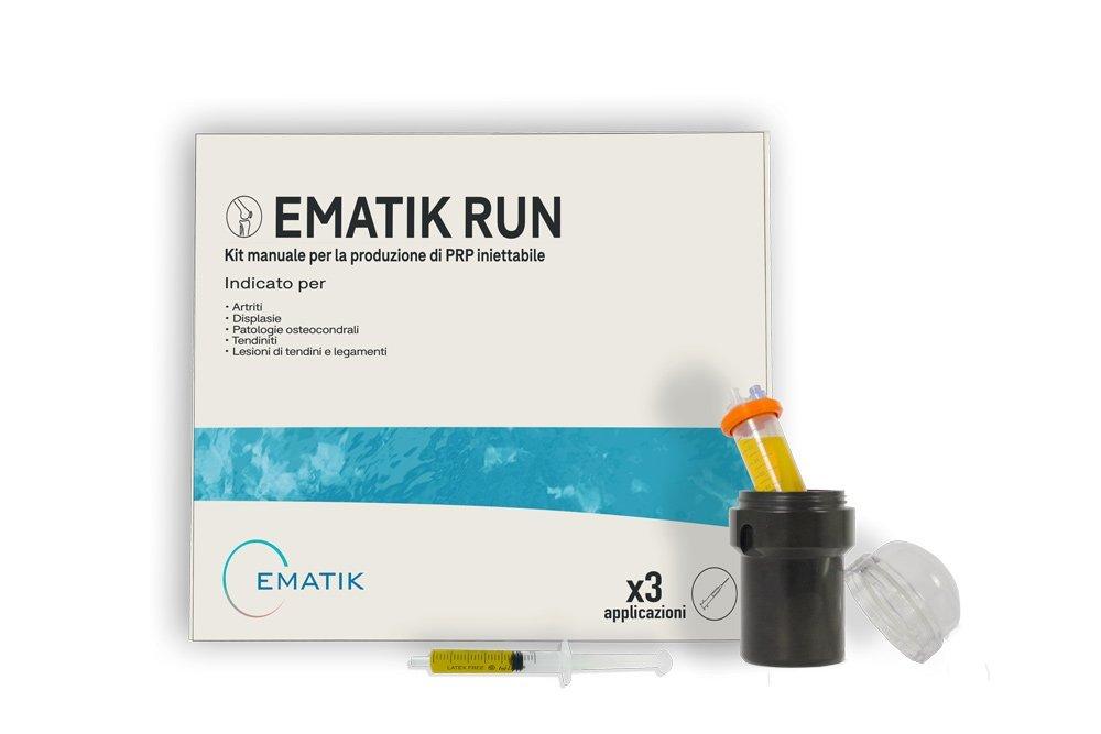 ematik run, il kit per la cura di patologie osteoarticolari, per cani e cavalli