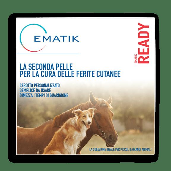 PRP kit, cerotto per la cura delle ferite di cani e cavalli